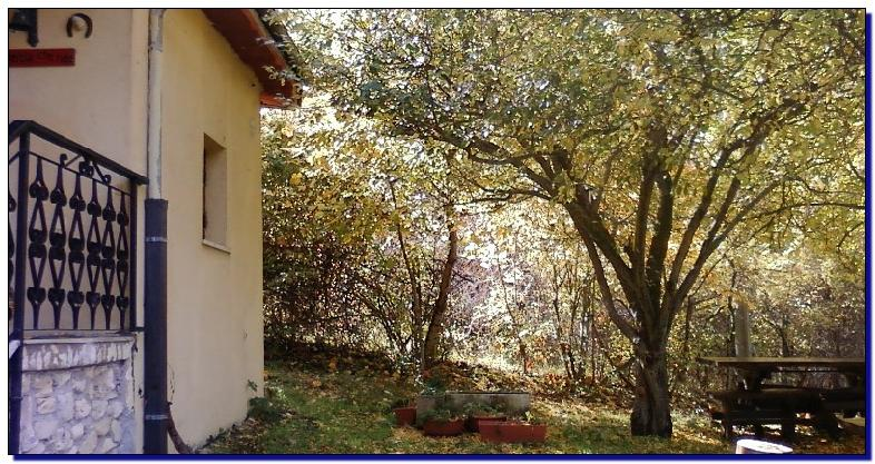 autunno al bed and breakfast la quercia che ride